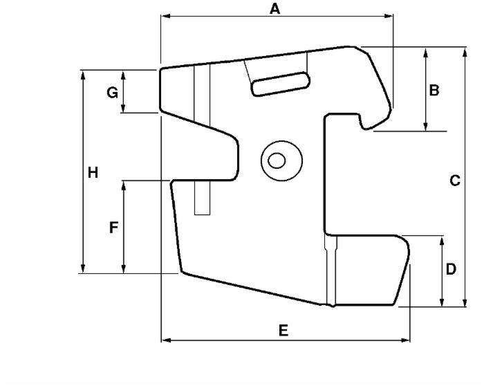 Zavorre: Zavorra In Ghisa Per Trattore Fiat-New Holland
