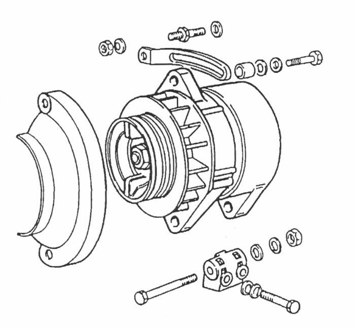 Motorino Avviamento-Alternatori: Alternatore Per Trattore