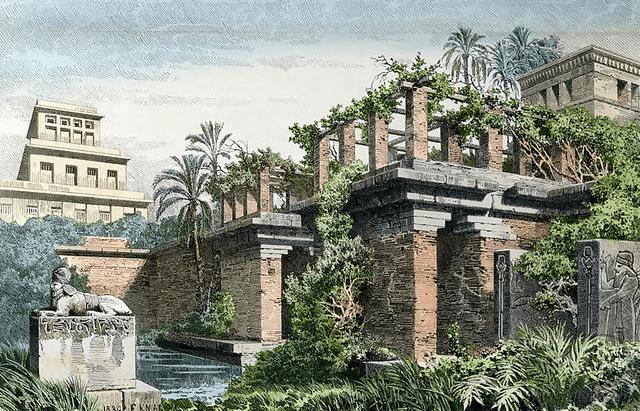 Jardins-suspendus-Babylone