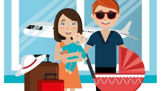 Viaje a Lisboa (III): cómo organizar el viaje en avión con un bebé