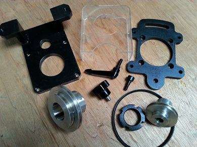 Belt Drive Conversion Kit Amadeal Xj12 Milling Machine