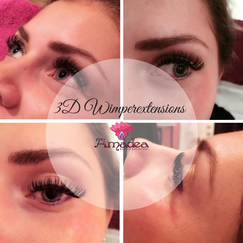 3D wimperextensions amadea roosendaal