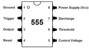 555 আইসি পিন আউট