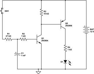 transistor delay-2