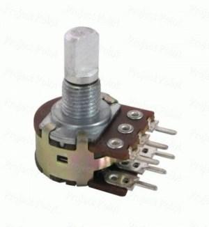 স্টেরিও ভেরিয়েবল রেজিস্টেন্স - Stereo Variable Resistance | Amader Electronics