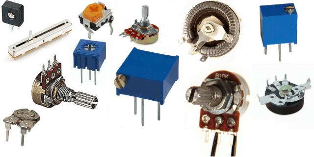 বিভিন্ন ধরনের ভেরিয়েবল রেজিস্টর - Different Types of VARIABLE RESISTOR| Amader Electronics