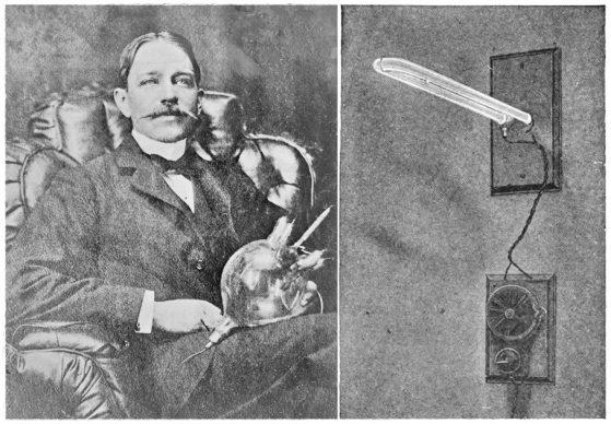 আবিষ্কারক পিটার কুপার হিউইট ও তাঁর আবিষ্কৃত মারকারি ভ্যাপার ল্যাম্প