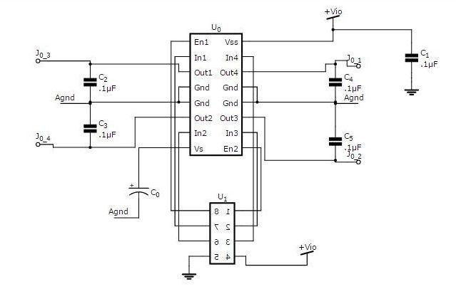 মোটর ড্রাইভার সার্কিট ডায়াগ্রাম রোবট রোবট তৈরি - আরডুইনো ও আলট্রাসনিক সেন্সর দিয়ে অবস্টাকল এভয়ডার motor driver circuit diagram for obstacle avoiding robot