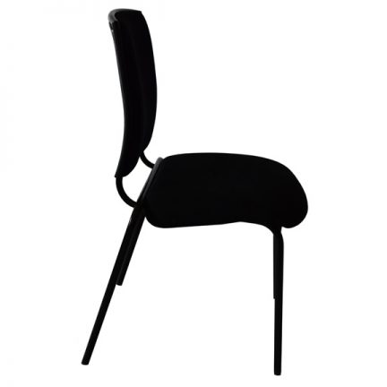 posture chair demo black and white styling opus 1 musicians amadeus side view 2