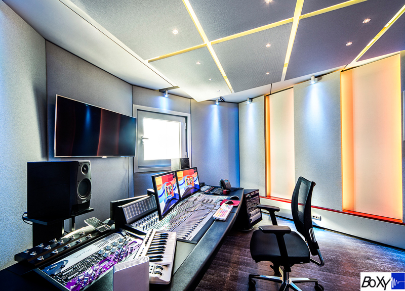 BOXY Modular Studios for Broadcast Editing and Production