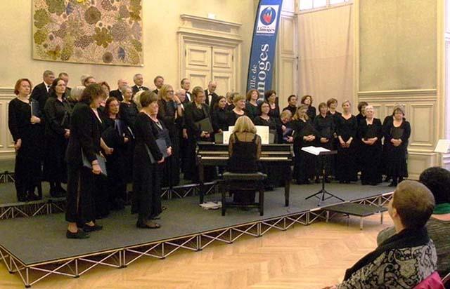 Concert à la Mairie de Limoges de Harmonia Voce