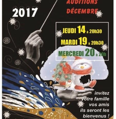 Noël 2017 en musique
