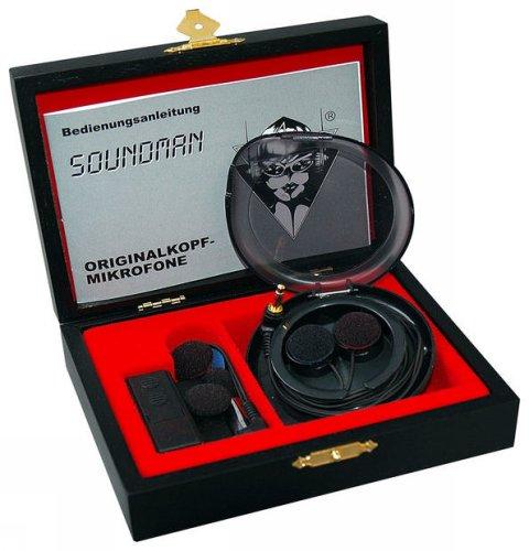 Microfono stereo/binaurale professionale Soundman OKM II Classic (costo circa 150 euro)