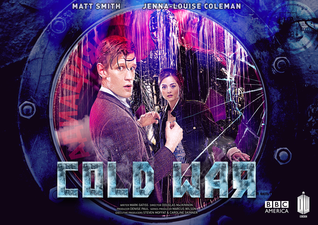 "The BBC and BBC America have released their trailers for the Mark Gatiss' penned ""Cold War"" featuring the highly anticipated return of the Ice Warriors."