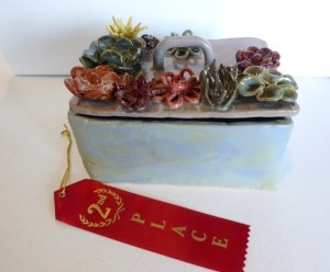 2nd place, Hailey Kirkbride - Succulent Chest