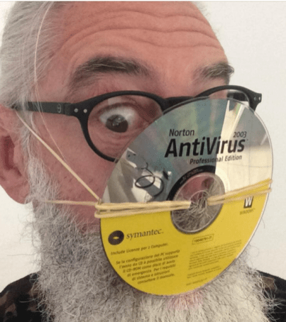 AntiViral Mask by Russell England