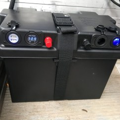 Dual Battery Ford Ranger 1997 Honda Civic Si Stereo Wiring Diagram Setup Accelerate Auto Electrics Air Portable Boxes Give You More Flexibility For Your Power Options