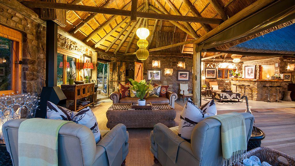 HillsNek Safari Camp Guest Lounge