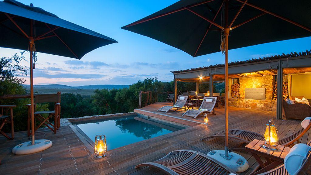 HillsNek Safari Camp Guest Pool Area