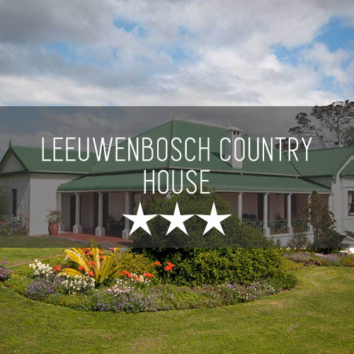Leeuwenbosch Country House   Featured Image
