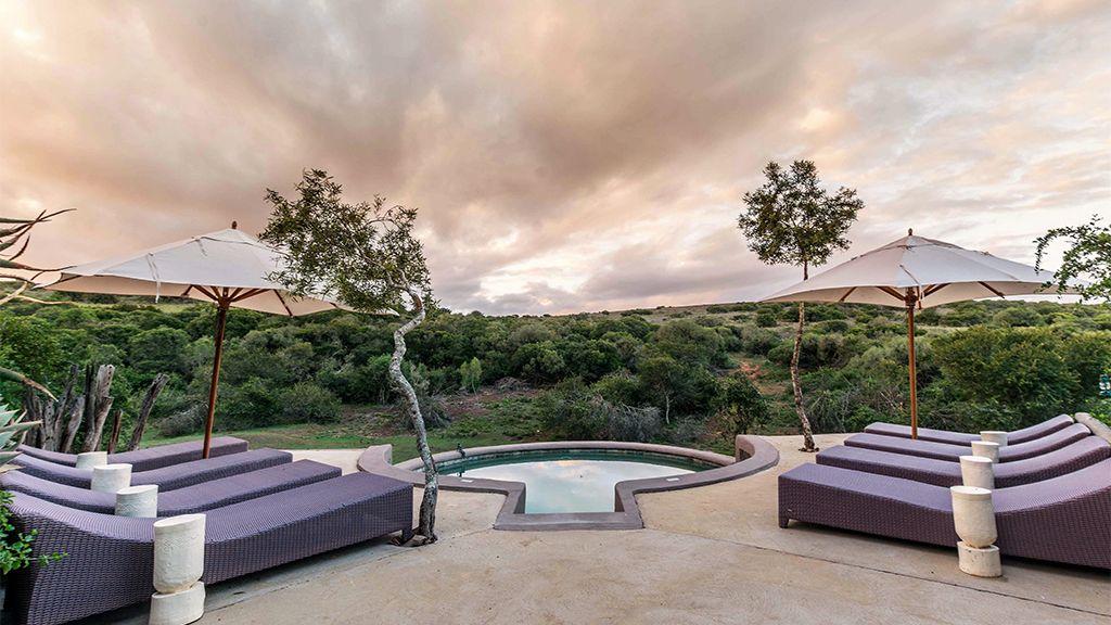 Safari Lodge Pool Area