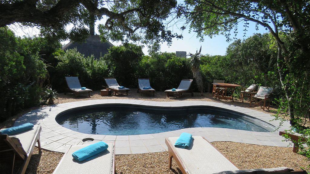 Woodbury Tented Camp Swimming Pool