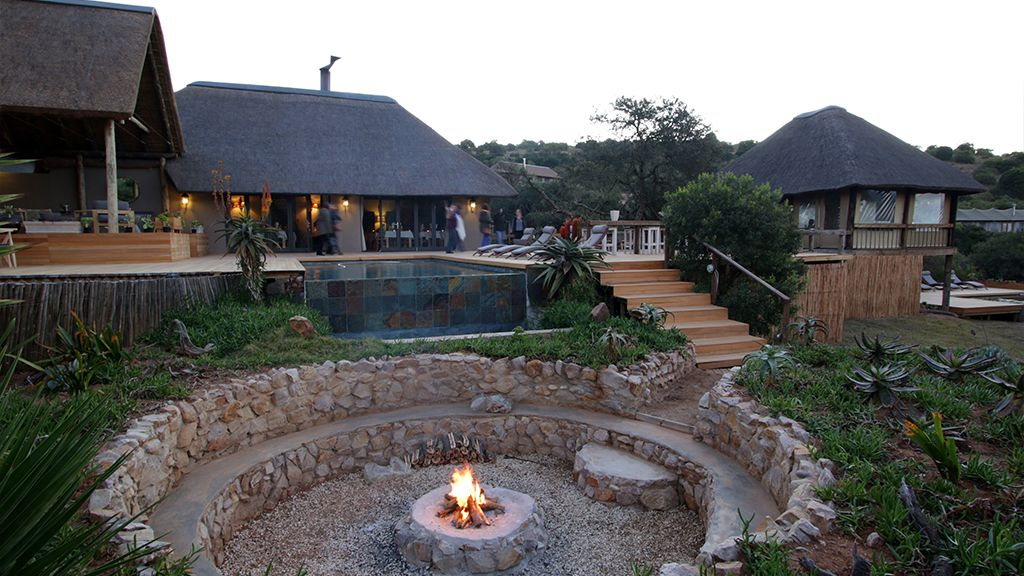 Bukela Game Lodge Fire Pit
