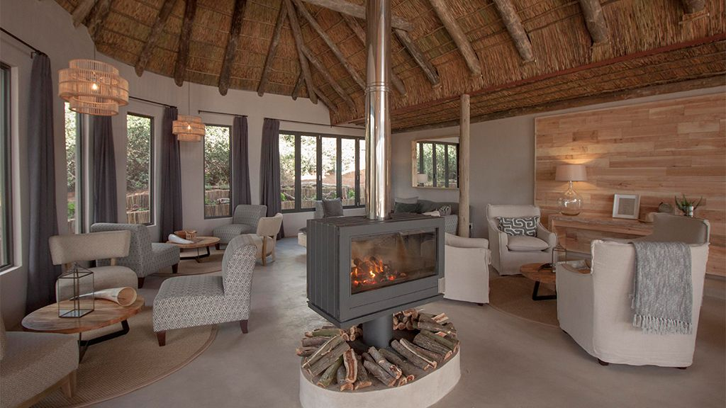Bukela Game Lodge Indoor Fire Place