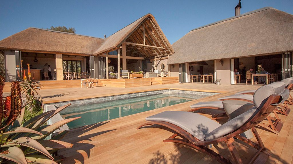 Bukela Game Lodge Swimming Pool