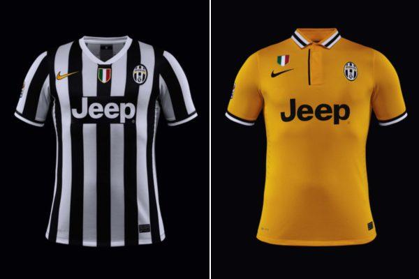 nuove maglie della Juventus 2013-2014