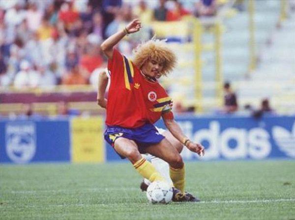 camiseta roja della Colombia