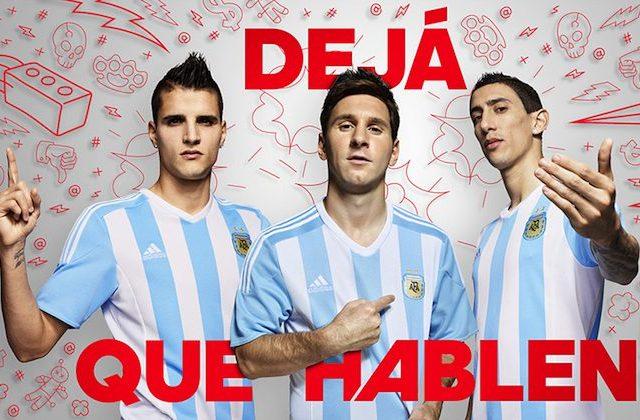 Coppa America, maglia Argentina 2015 di adidas
