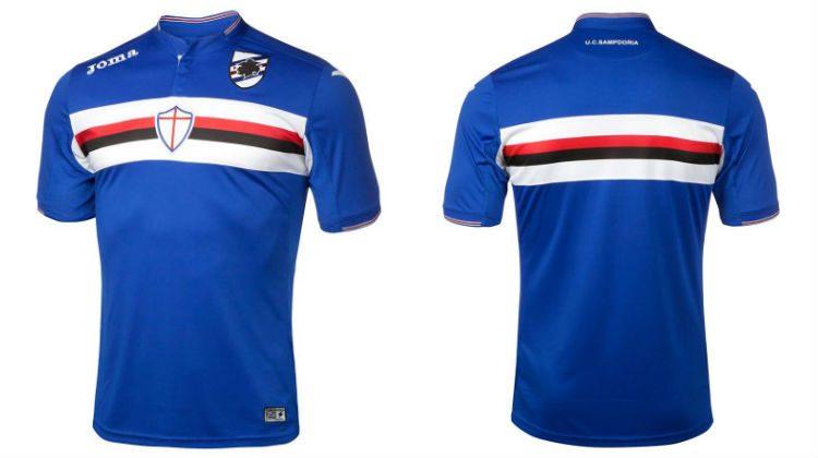 completo calcio Sampdoria gara