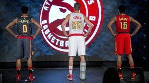 Nuova maglia Atlanta Hawks