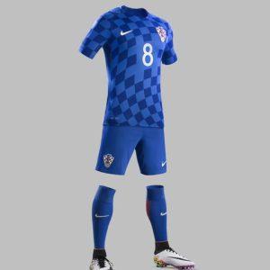 Maglia Croazia blu Nike Euro 2016