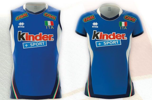divise nazionale volley 2017