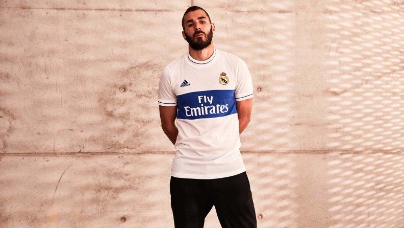 maglie vintage calcio Real Madrid 2018