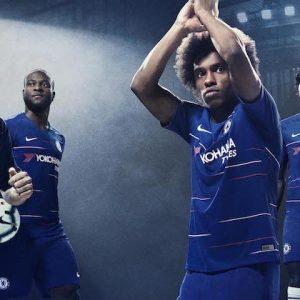 Chelsea home kit 2018-2019