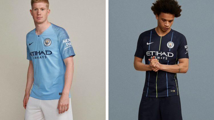 Seconda Maglia Manchester City prima