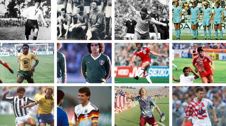 Storie e curiosità maglie calcio Mondiali