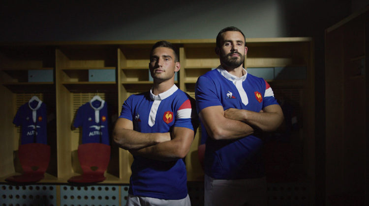 Francia rugby home kit 2018 2019