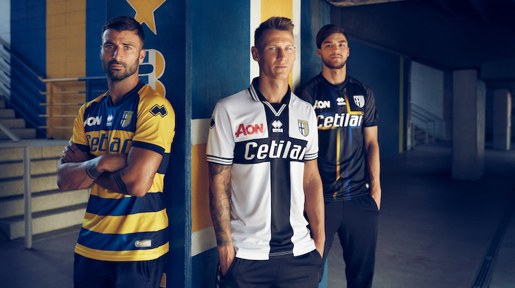 Parma home away third kit 2018 2019