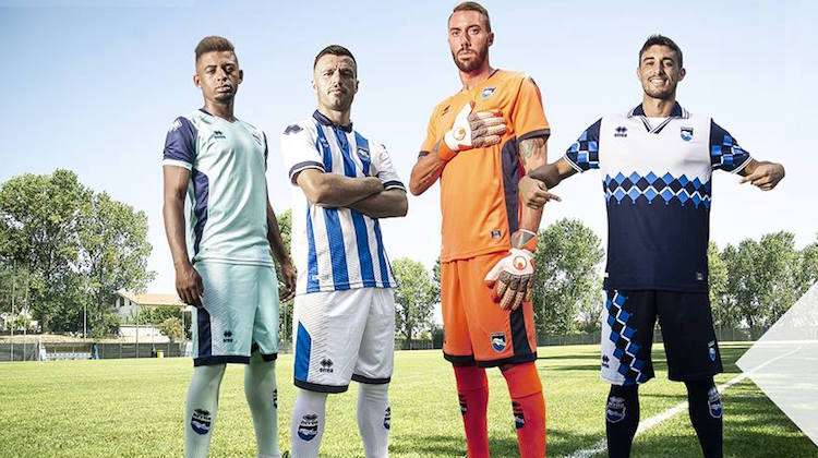 Pescara home away third special kit