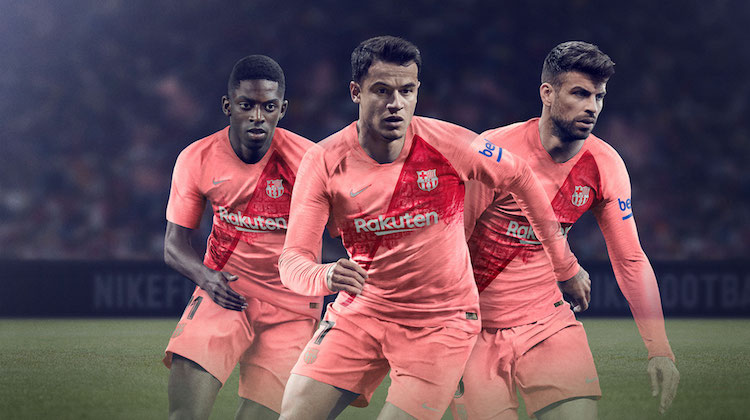 Barcellona third kit 2018 2019 Nike
