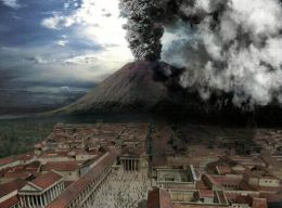 Pompeii tours from Sorrento mount-vesuvius-eruption-07