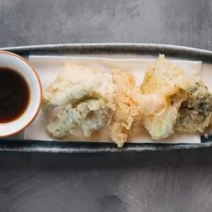 Amami Sushi Mixed Veg Tempura