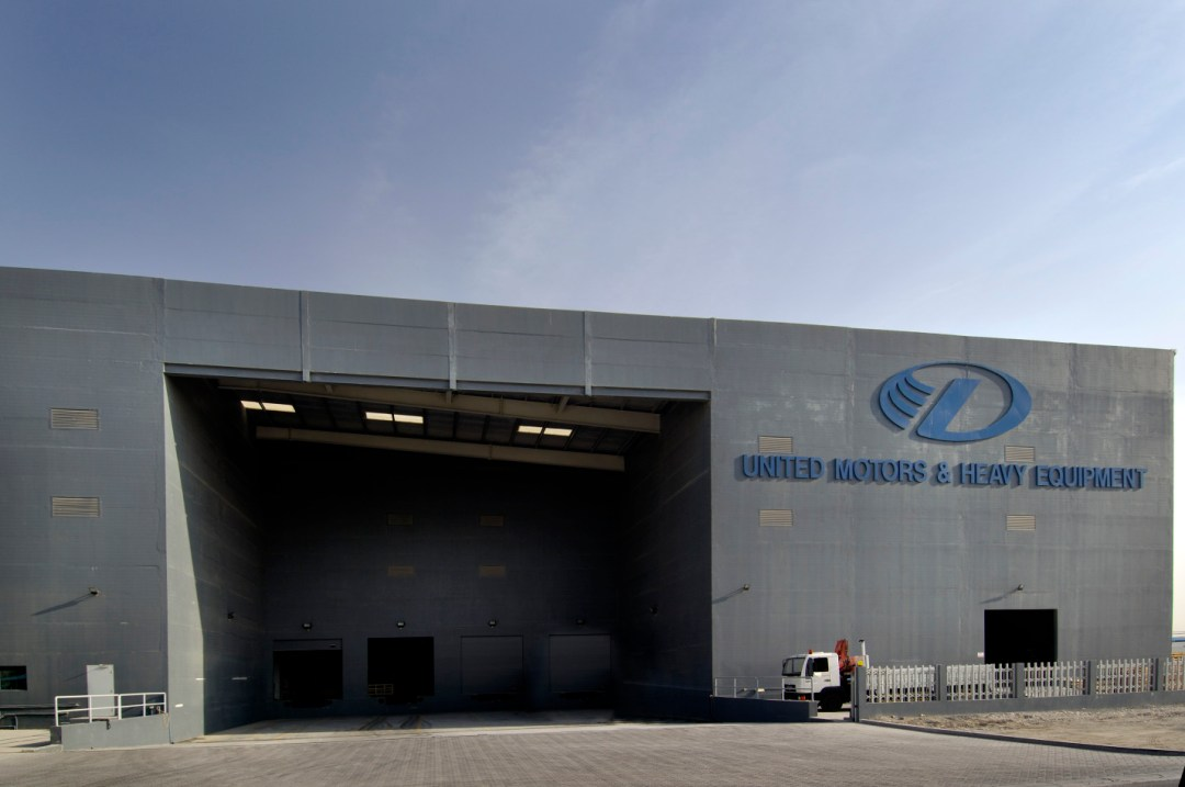 Logistics Center for United Motors at Jebel Ali Free Zone
