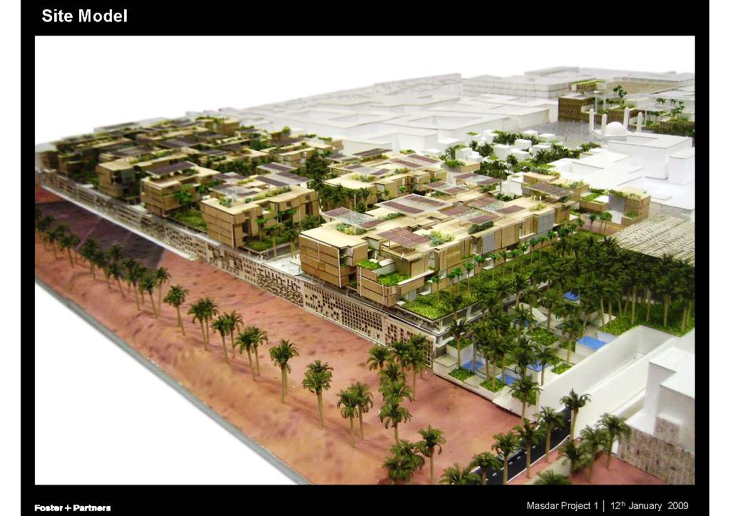 Ancillary Building, Car Park & Podium (1A/1B) for Masdar Institute of Science and Technology (MIST)