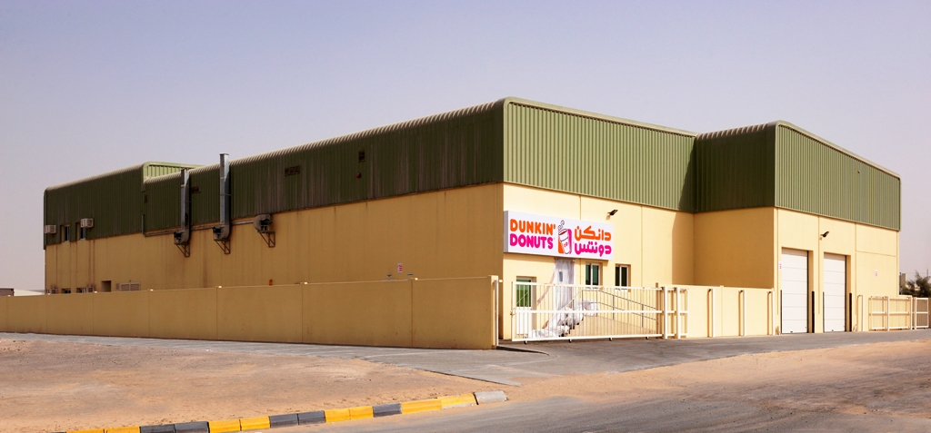Bakery Production Facility for Dunkin' Donuts at Sharjah Industrial Area