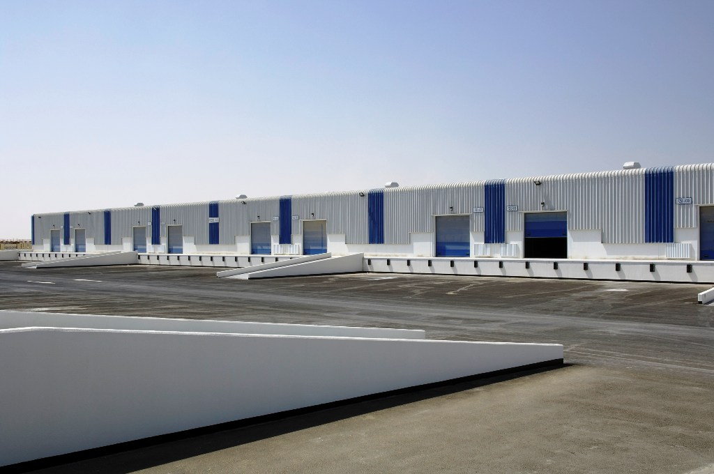 Light Industrial Units (Phase 12) for Dubai Ports Authority at Jebel Ali Free Zone